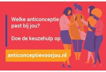 Promokaartje Anticonceptievoorjou.nl (gratis, per 10 stuks)