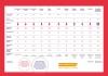 Bureauplacemat met vergelijkend overzicht anticonceptiemethoden