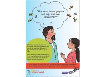 Posters Week van de Lentekriebels voor ouders/ opvoeders