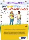 Posters Week van de Lentekriebels voor kinderen