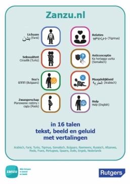 Poster Zanzu.nl